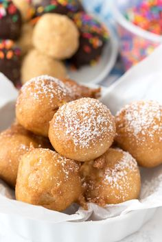 No Bake Cheesecake Truffles - deep fried cheesecake bites just like you get at the fair! It's such an easy recipe to make at home.