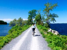 Former train tracks have been converted into bike paths across the nation. Here are the 8 best rail trail options in the Northeast and Mid-Atlantic.