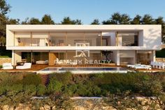 Luxury Villa for sale in Blanes, Spain - 68191125 Real Estate Agency, Luxury Real Estate, Barcelona Catalonia, Large Windows, Luxury Villa, Swimming Pools, Entrance, Patio, Mansions