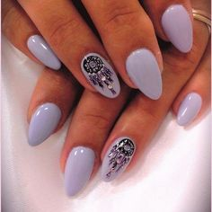Lots of dream catcher nail designs and ideas. How beautiful and unique with such good meaning. I love it.