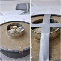 DIY-Beton selber giessen-Feuerschale The Effective Pictures We Offer You About Garden Planters on wheels A quality picture can tell you many things. You can find the most beautiful pictures that can b Concrete Crafts, Concrete Projects, Diy Projects, Vegetable Garden Planters, Table Beton, Concrete Stool, Papercrete, Beton Diy, Minimal Kitchen