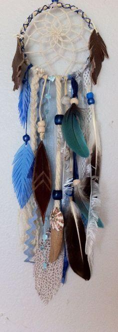 dreamcatcher for a boy's room by rachael rice http://rachaelrice.com/art/custom-orders