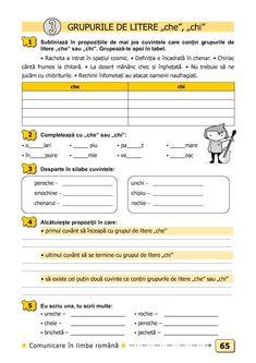 Clasa a II-a : Comunicare în limba română. Clasa a II-a Tracing Worksheets, Preschool Worksheets, School Lessons, Sheet Music, Kindergarten, Homeschool, Parenting, Teacher, Education