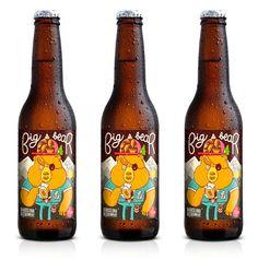La cerveza con el packaging más molón del mundo es de Barcelona2
