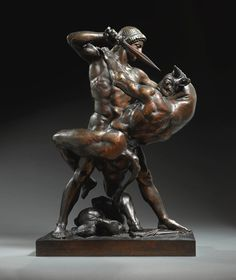 Theseus and the Minotaur by Antoine-Louis Barye