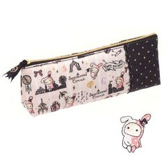 "San-x Rabbit Sentimental Circus Design Pen Case by San-x. $16.95. Approx. sizes: 2.75"" x 7.75"" x 1.75"". imported from Japan. Original San-x Japan products. San-x character Sentimental Circus pencil pouch. 7.75"" width San-x Sentimental Circus design pencil bag, imported from Japan."