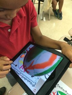 A little augmented reality with our Dot Day Dots! #dotday15 @quivervision