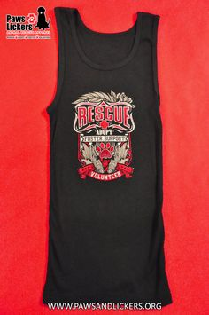 Dog Rescue Tank Top By PAWS & LICKERS – PAWS & LICKERS - Dog Rescue Shirts Promoting Rescue & Adoption