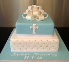 Ideas For Baby Boy Baptism Shoes Shower Cakes Baby Christening Cakes, Baby Boy Baptism, Baptism Cakes, Comunion Cakes, Boy Communion Cake, Dedication Cake, Theme Bapteme, Religious Cakes, Confirmation Cakes