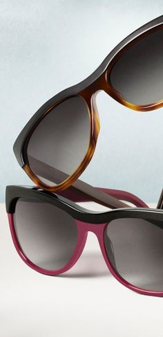 New Brit sunglasses for women with colour contrast brow detailing, inspired by British Summer music festivals