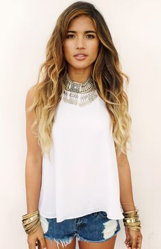 Rocky Barnes for Show Me Your Mumu in the Cleopatra Coined Silver Necklace