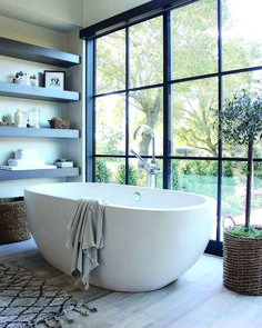 Bathroom Niche: Learn How To Choose And See Ideas With Photos - Home Fashion Trend Trendy Bathroom Tiles, Minimal Bathroom, Timeless Bathroom, Bathroom Remodel Master, Bathroom Decor Apartment, Bathroom Interior, Bathroom Tile Designs, Luxury Bathroom, Bathroom Decor