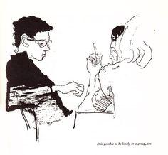 True! (via An ABZ of Love: Kurt Vonnegut's Favorite Vintage Danish Illustrated Guide to Sexuality | Brain Pickings)