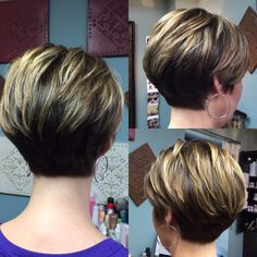 12 Hottest Chic Simple Easy-To-Style Bob - Hair Beauty - maallure Short Thin Hair, Short Hairstyles For Thick Hair, Mom Hairstyles, Haircut For Thick Hair, Short Hair With Layers, Short Hair Cuts For Women, Short Hair Styles, Pixie Haircut, Short Wedge Haircut