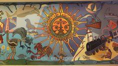 Conrad Hilton, murale Carlos Paez Vilaro, Punta del Este, Uruguay