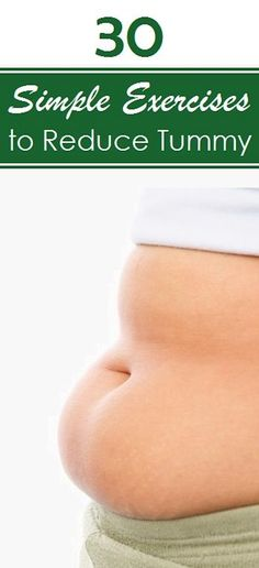 Top 30 Exercises to Reduce Tummy