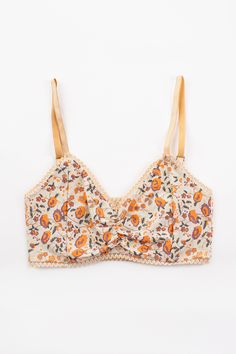 Pocket Full of Posies Bralette - Orange Blossom | Spell & the Gypsy Collective