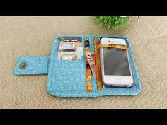 Vamos fazer ? Capinha para celular com porta cartões! Venha participar do Grupo Arte de paninho ,é só clica no link https://www.facebook.com/groups/grupoarte...