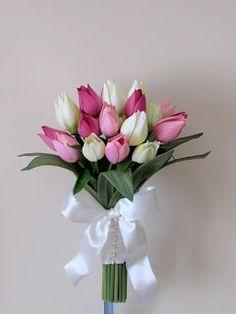 Bouquet Bridal: pink flowers