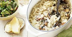This simple recipe for Mushroom Risotto is packed full of flavour and a great dish for the whole family to enjoy.