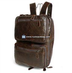 Genuine Leather Men's Backpack Messenger Travel Bag Laptop Bag Men's Backpack, Rucksack Backpack, Leather Backpack, Fashion Backpack, Messenger Bag, Computer Backpack, Laptop Bag, Canvas Travel Bag, Leather Men