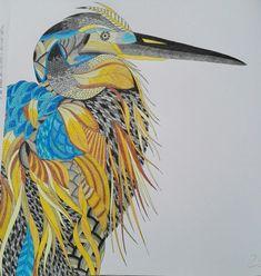 Visit the post for more. Coloring Book Art, Bird Artwork, Animal Kingdom, Mandala, Wildlife, Birds, Gallery, Painting, Animals