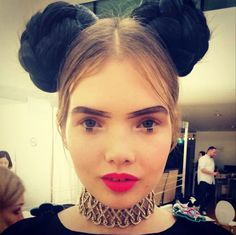 Chanel-seould-korea-sam mcknight-braids-minnie mouse