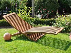 viareggio: doppel - sonnenliege, gestell stahl, bespannung, Garten seite