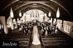 I WANT THIS PHOTO. West Point wedding at Most Holy Trinity Catholic Chapel - so beautiful!!