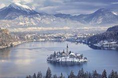 Lac et île de Bled - Slovenie