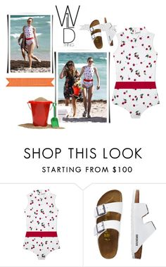 """""""Wild Cherry"""" by alwaysroyal on Polyvore featuring Cover, TravelSmith, GetTheLook and Swimsuits"""