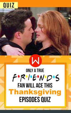 Are you a true Friends fanatic? Friends Fans are the only ones to REALLY remember all these details about The Friends Thanksgiving Episodes. Friends Holidays quiz, Friends sitcom, American Sitcoms, Julia Roberts, Chandler and Julia Roberts, Friends Iconic guests.