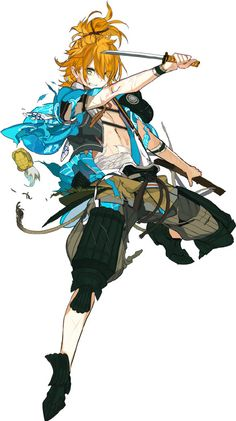 No larger size available M Anime, Anime Guys, Anime Art, Anime Stuff, Character Concept, Character Art, Concept Art, Anime Krieger, Touken Ranbu Characters