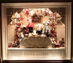 ralph lauren children's windows. This is more holiday themed
