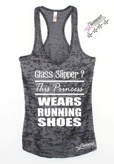Glass Slipper? This Princess Wears Running Shoes