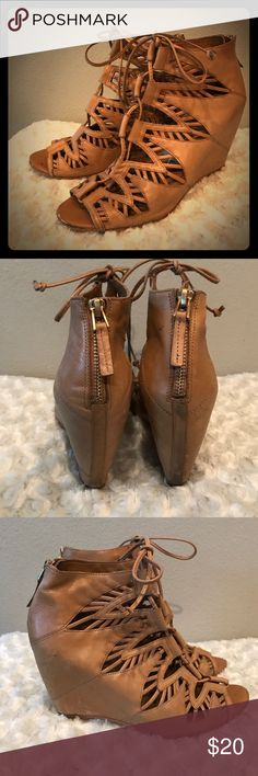 ‼️super sale‼️Dolce Vita size 9.5 Good condition. Little details on pics. Dolce Vita Shoes Wedges