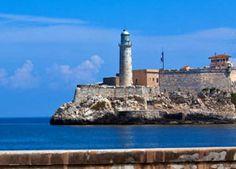 #Havana Castillo de los Tres Reyes del #Morro Castle is the most well known castle fortress in #Cuba