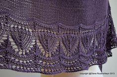 Ravelry: Solanum pattern by Diana Rozenshteyn
