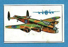 ARMI E SOLDATI - Edis 71 - Figurina-Sticker n. 411 - IL LANCASTER -Rec