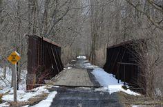 plank bridge in Theresa N Y used for atv's