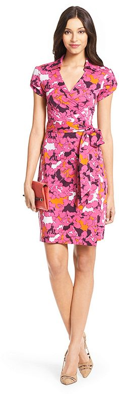Jilda Two Silk Jersey Wrap Dress - dress for pear bodyshape