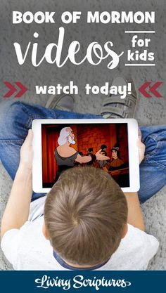 Need a fun way to teach scripture stories to your children? Want quality shows for your kids that teach good values? Now you can enjoy the entire Living Scriptures Library for just $9.99 a month! Watch the Animated Book of Mormon, The Animated New Testament, The Animated Old Testament, plus other gospel based and LDS themed movies for kids and adults. Get your first month for just $5 with coupon code FIVE. Click now to start streaming! Scriptures For Kids, Lds Scriptures, Scripture Reading, Scripture Study, Family Scripture, Book Of Mormon Videos, Lds Movies, My Church, Kids Church