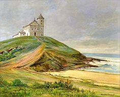 Igreja de Nossa Senhora de Nazaré, 1943 Gastão Formenti (Brasil, 1894-1974) óleo sobre tela, 54 x 65 cm