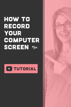 HOW TO RECORD YOUR COMPUTER SCREEN FOR FREE // In today's video, you will learn how to quickly and easily record yourself and your computer screen using a free Google Chrome extension. #videotutorial Chrome Apps, Chrome Extensions, Write Online, Wordpress Website Design, Successful Online Businesses, Content Marketing Strategy, Google Chrome, Entrepreneur Ideas, Online Entrepreneur