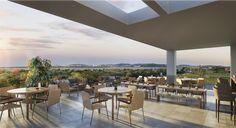 Lounge piscina - Península