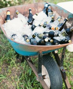 Repurpose These 15 Backyard Barbecue Ideas At Your Wedding | Photo by: Blue Elephant Photography | TheKnot.com