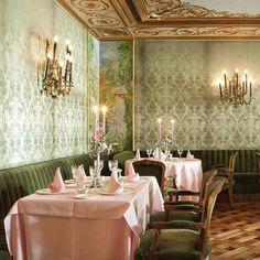 Das Restaurant im Hotel La Gavina in S'Agaró Spanien   creme guides
