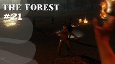 The Forest #21 [Facecam] - Die Kannibalen, die ich (nicht) rief - Let's Play The Forest