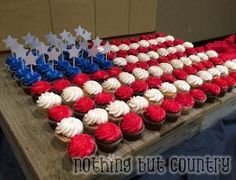 Eagle Scout Court of Honor Cupcakes by jana
