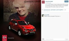 Nissan have used Instagram and twitter in a campaign to promote their Juke model. The campaign had customers share a picture that they felt represents their personality using the #JukeDNA hashtag. After doing this, Nissan sent them a personalised image of the new Juke, It was the new car with the photograph in the background. The campaign however wasn't a great success it only received 715 mentions of the hashtag. I think this is because it wasn't exciting enough, its pretty simple to do.